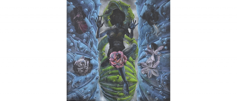 Lotz, plant goddess, 2016-88-01