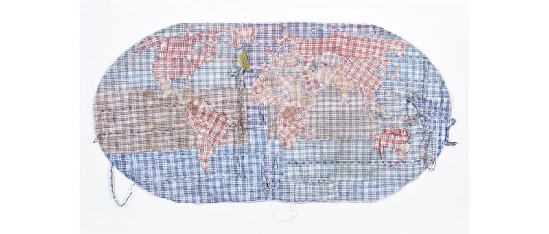 Cartina Del Mondo On Line.Rifugiato Mappa Del Mondo