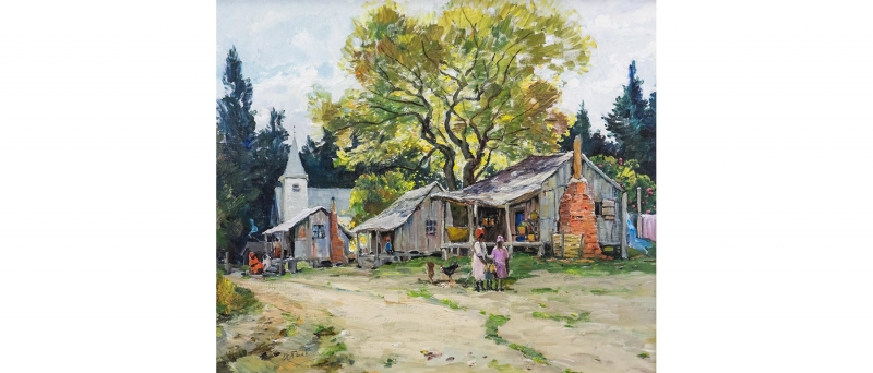 Anthony thieme - florida shanties, palatka