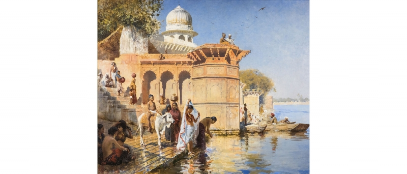 Edwin lord weeks, along the ghats, mathura