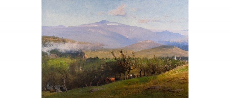 George inness - mount washington