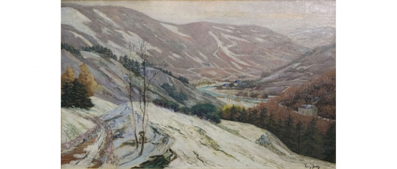Snow in the ardennes (salon)