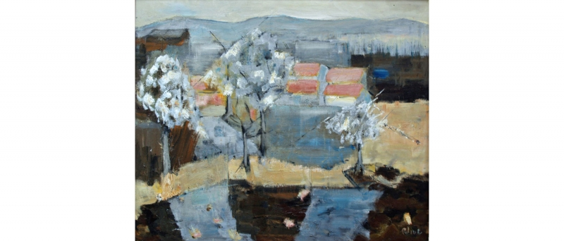 Clive, springtime in pyrenees, 2010-01
