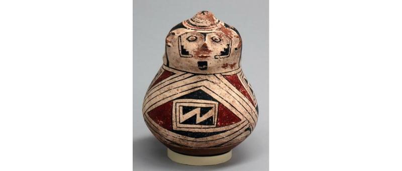 Pre columbian, effigy vessel