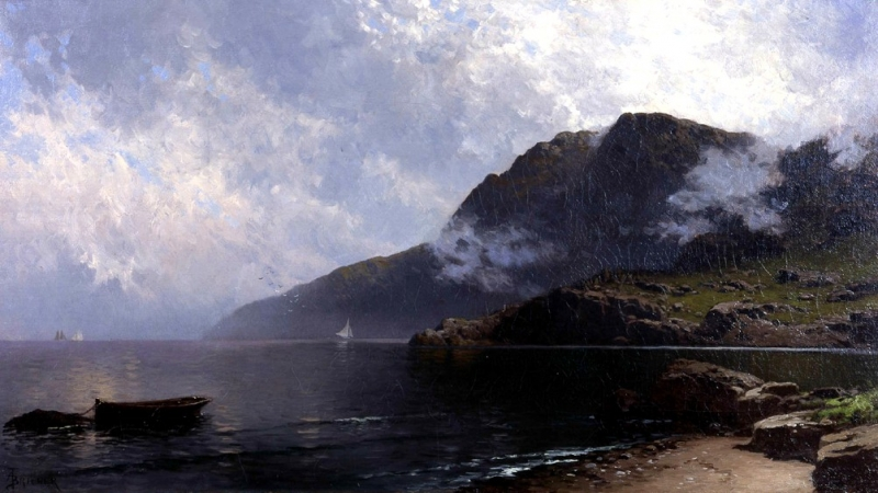 Bricher, seascape, 2004-01
