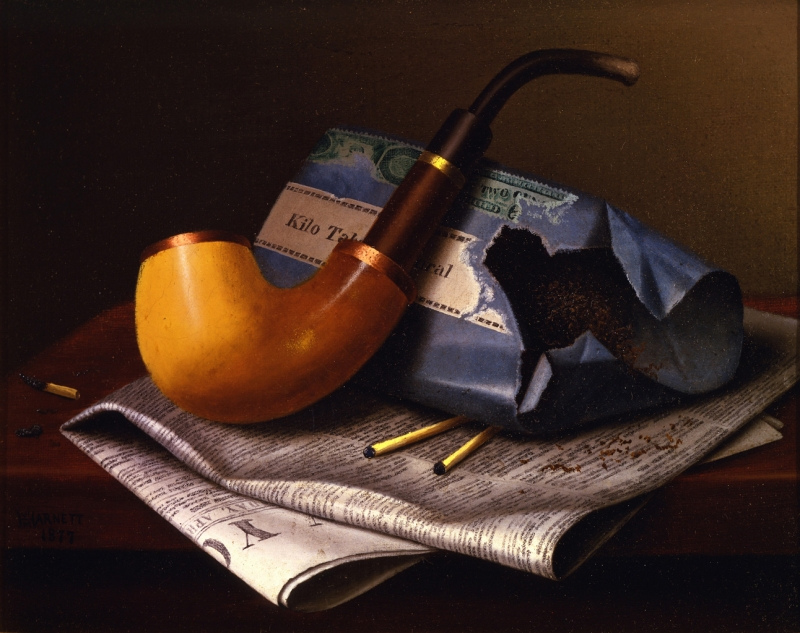 Harnet, still life with pipe, 2004-02, small
