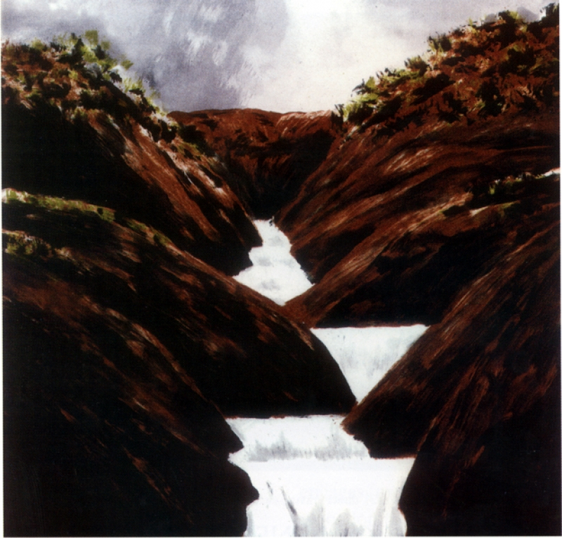 Gornik, stepped waterfall, 20002-4, ver 2