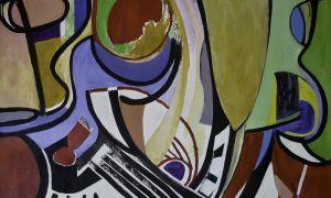 20. garde - 2012, jazz iii 44 x 55