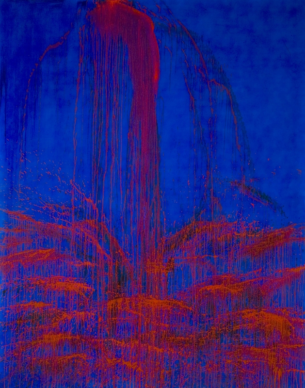 Steir, inner lhama waterfall, 98-80 martinot 2012