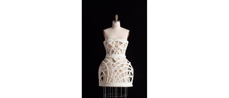 Frosting basket dress, 2013