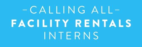 Facility rentals intern