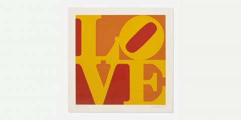 Robert indiana golden love web