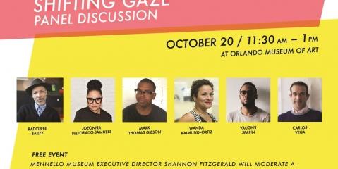 Shifting gaze panel invite