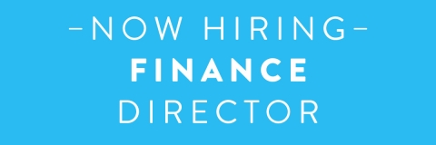 Finance director - now hiring