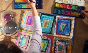 Virtual youth workshop - watercolor 2
