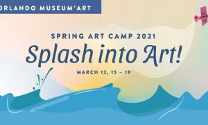 Spring art camp - hero