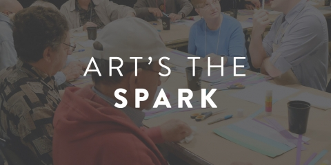 Art's the Spark Hero