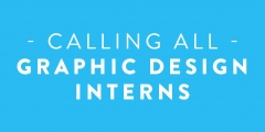 Graphic design interns