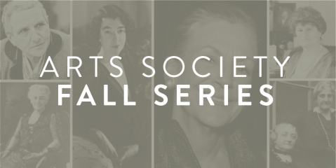 Arts Society Fall Series