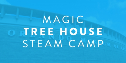 Magic tree house steam camp