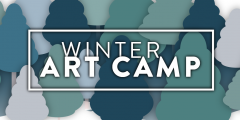 Winter Art Camp Hero