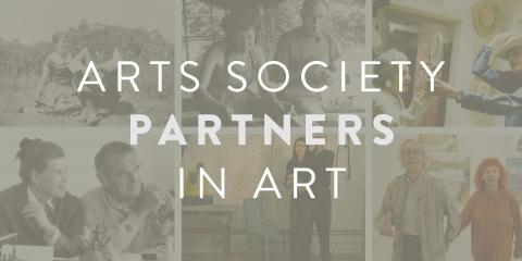 Arts society partners in art