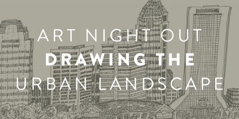Ano drawing the urban landscape